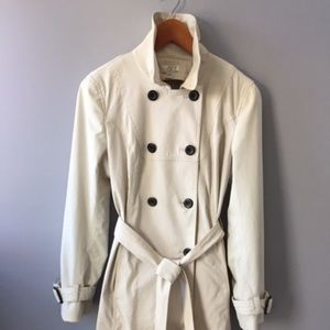 Talbots trench coat, removable lining